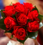 Wedding Red Roses Bouquet